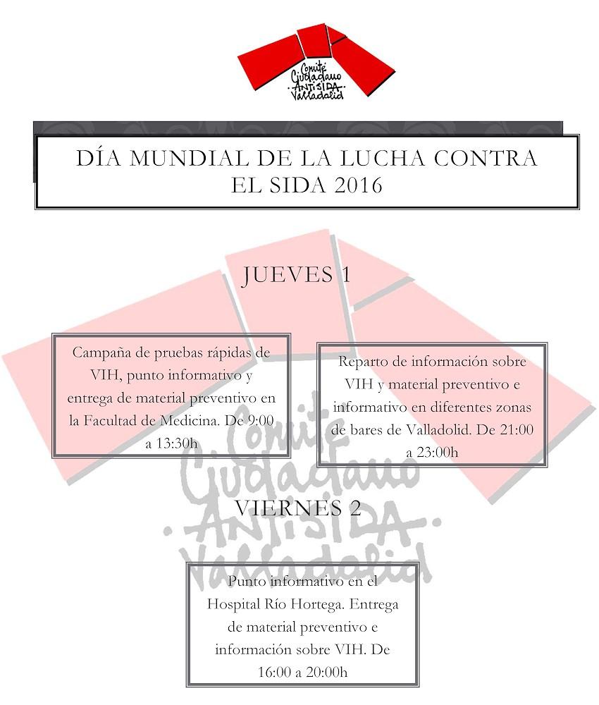 DÍA MUNDIAL DE LA LUCHA CONTRA EL SIDA 2016